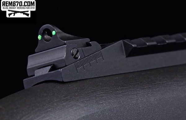 Remington 870 Fiber Optic Sight