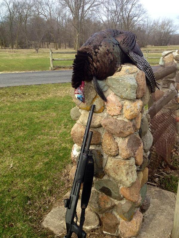 Turkey Hunting Remington 870