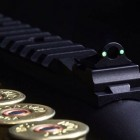 W.G.S. Co. Ace In The Hole fiber optic ghost ring with an integrated 1913 picatinny rail for the Remington 870 shotgun