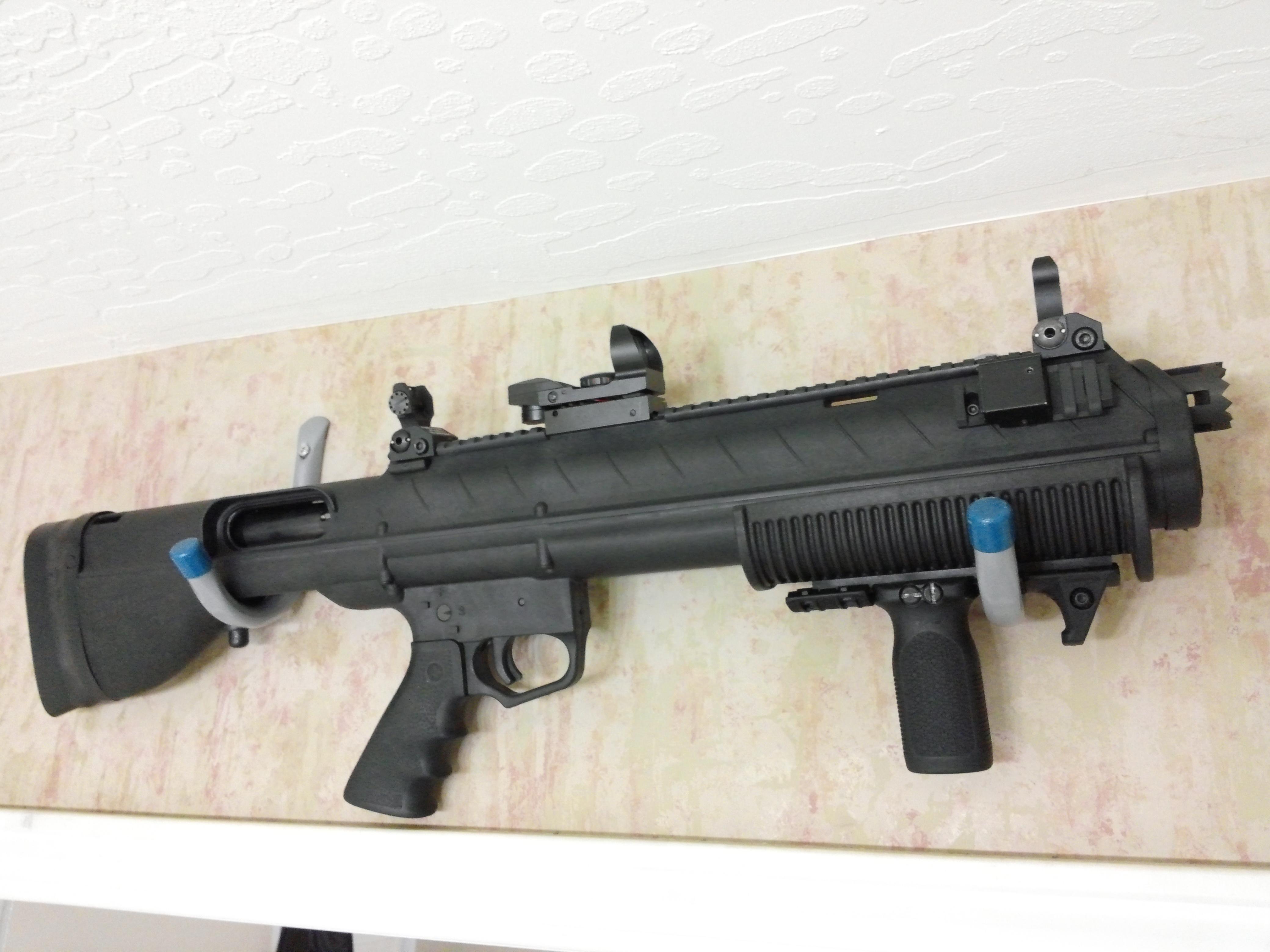 Bullpup Remington 870 Shotgun