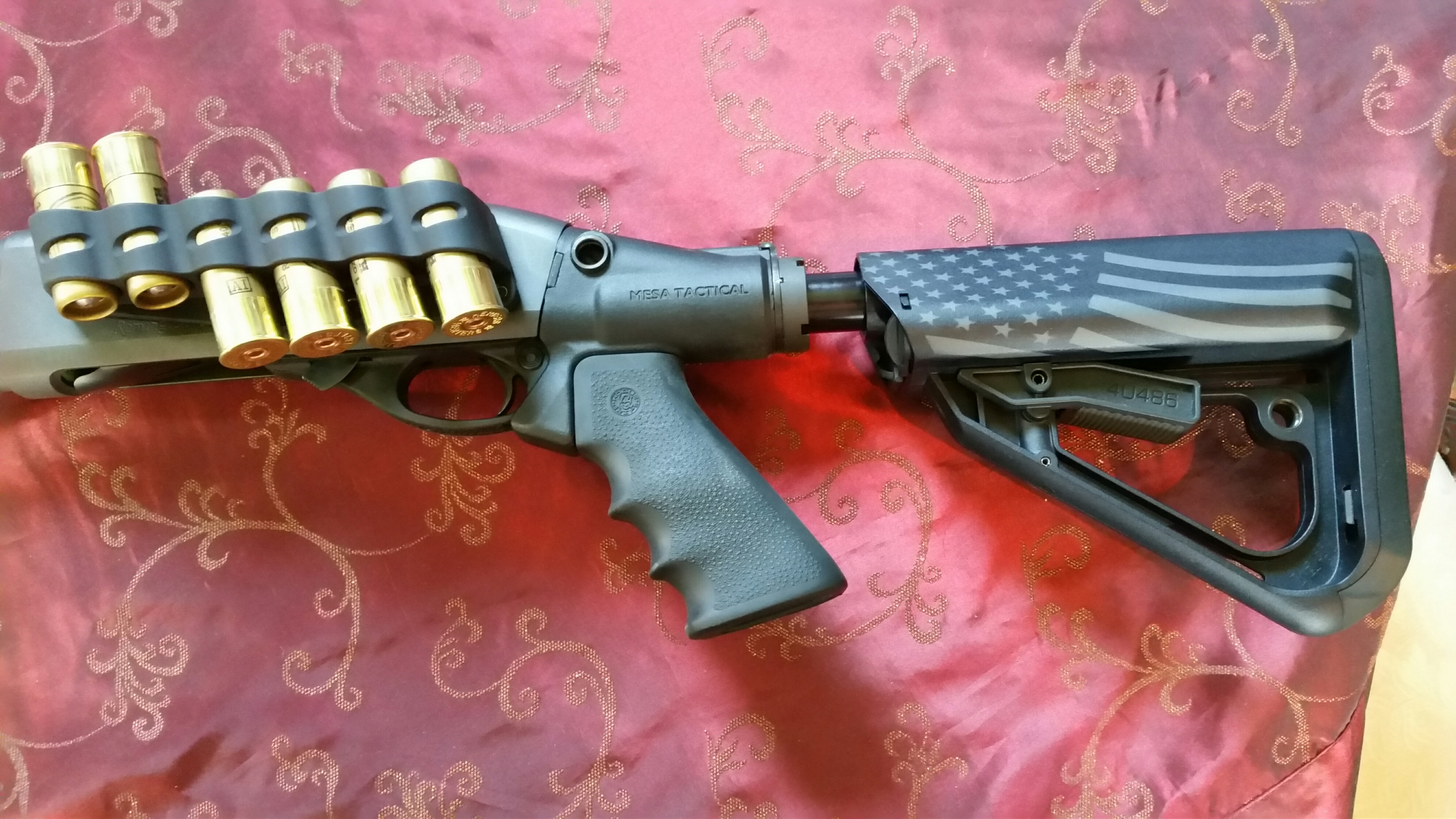 Remington 870 Painted