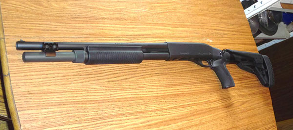 Remington 870 with Pistol Grip Stock