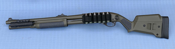 Remington 870 with Sdesaddle and Magpul Stock