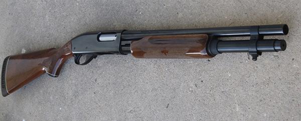 Remington model 870tm express synthetic home defense 12 gauge