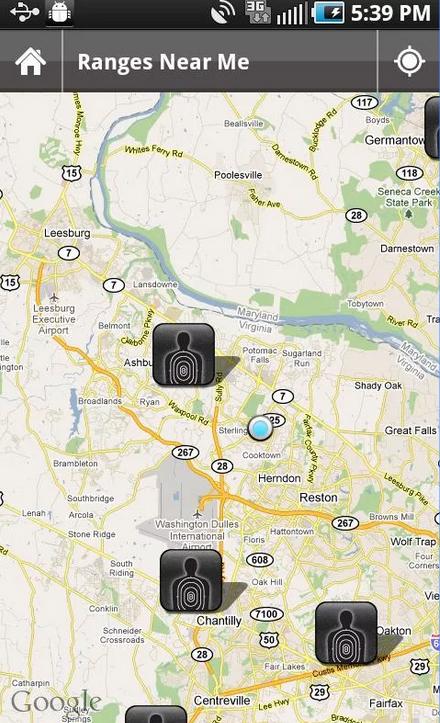Rangelog - shooting range activities tracker Android app