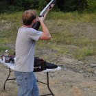 Remington 870 Marine Magnum - Magpul Stock & Forearm @ Clay pigeon