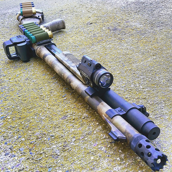 Remington 870 Tactical with Flashlight
