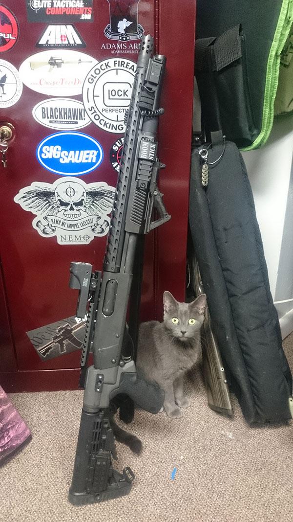Remington 870 Tactical Upgrades