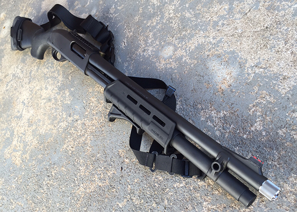 Remington 870 with XS Picatinny Rail