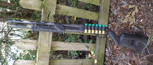 Remington 870 with Magpul Stock and Forend