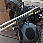 Remington 870 Marine with Surefire Forend