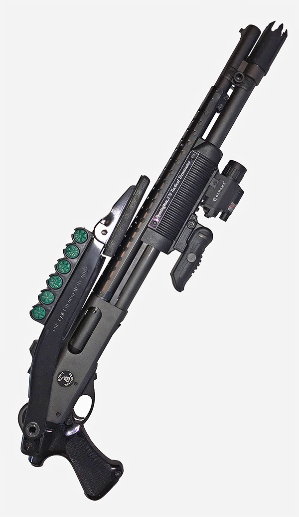 Remington 870 Tactical Terminator with Upgrades and Accessories