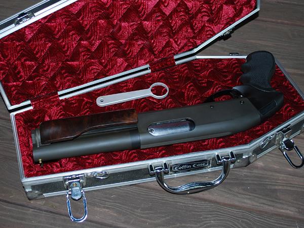 Short Barrel Shotgun - 12ga Wingmaster with a 7 inch Barrel