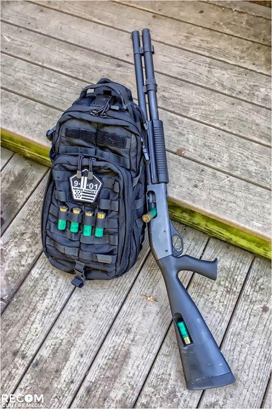 Remington 870, 4th place, 12 likes