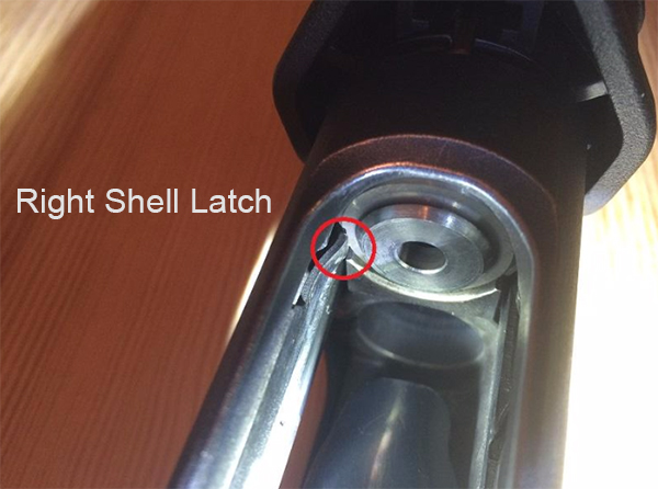 Remington 870 Right Shell Latch