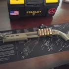 Remington 870 with Magpul Furniture and Inforce Flashlight