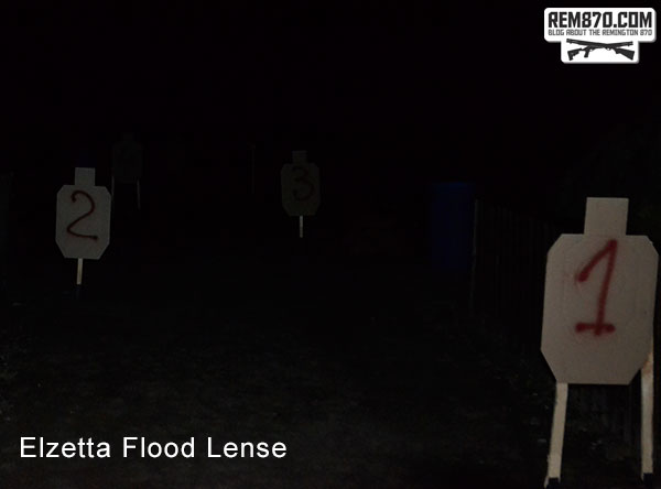 Elzetta Flood Lense Flashlight Test