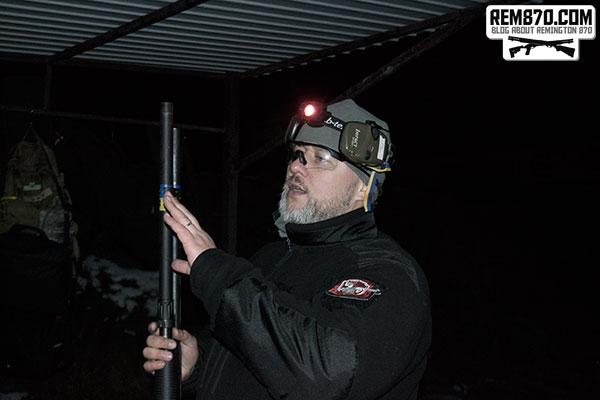 Shotgun Night Training