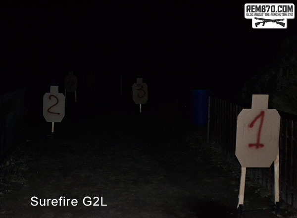 Surefire G2L Flashlight Test