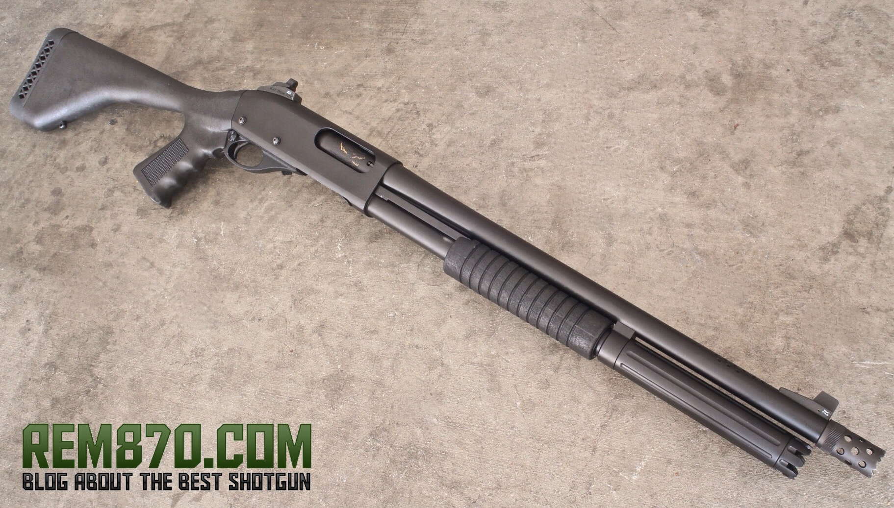 Remington 870 stock options