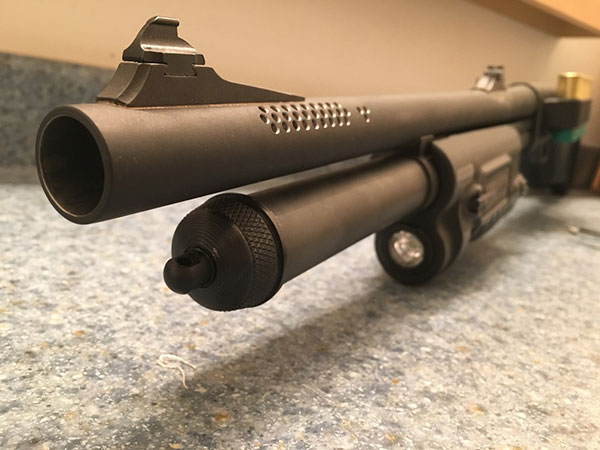 Remington 870 Spacer for Tactical Models with One-piece 6 Round Magazine Tube