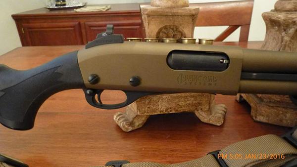 Vang Comp Systems Remington 870 Shotgun