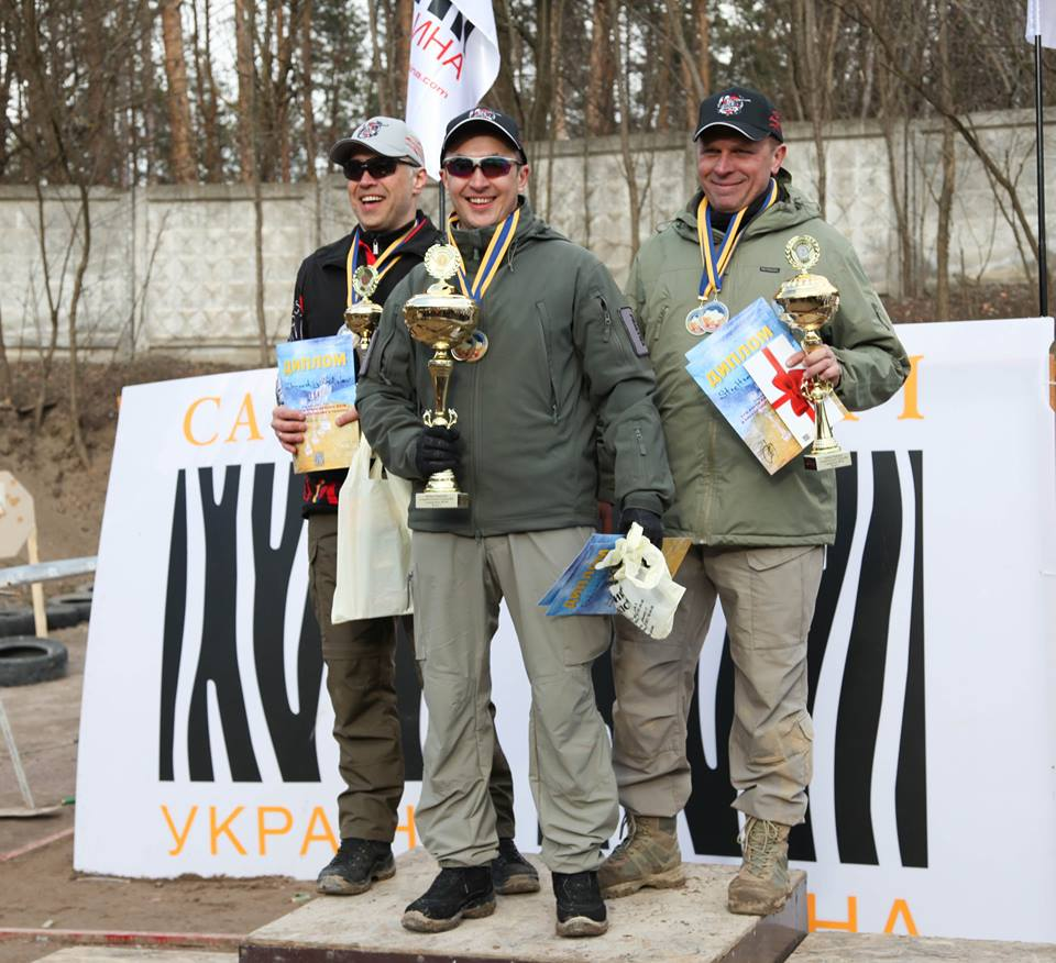 Ukraine Practical Shotgun Shooting Cup 1st Stage, Gold!