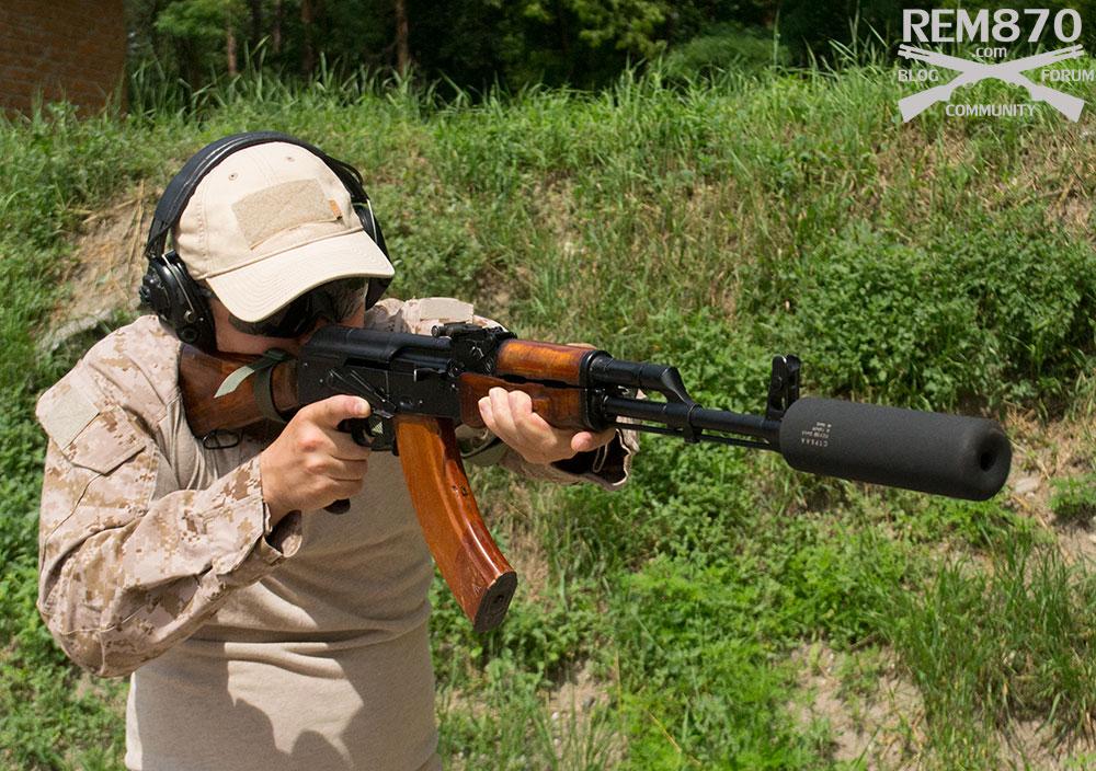 AK-47 Suppressor