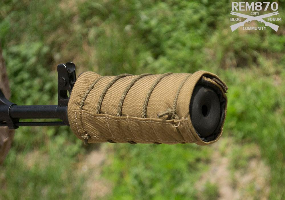 AK-47 Suppressor with cover