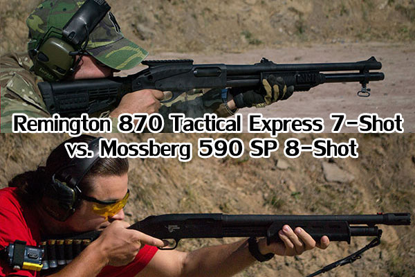 Remington 870 vs Mossberg 590