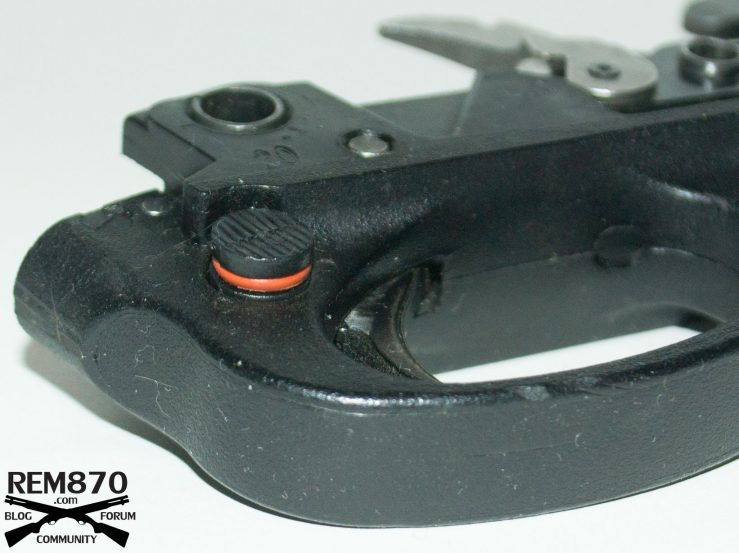 Fortmann's Left Hand Safety Conversion for Remington 870