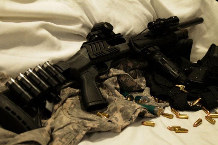 Remington 870 with Pistol Grip