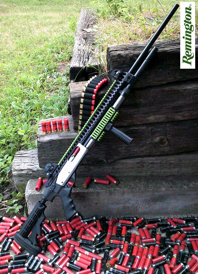 Remington 870 with Rail