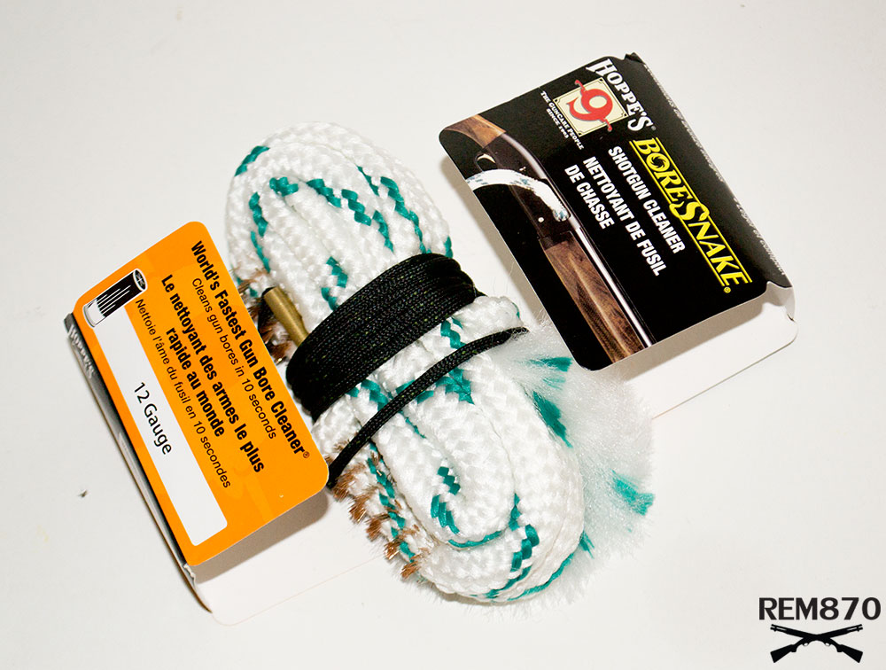 how to clean gun barrel with bore snake