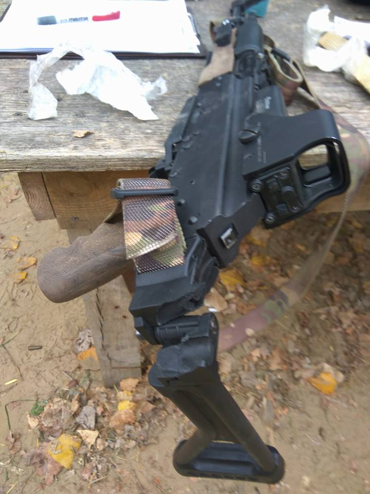 AK-47 Tapco Folding Stock Fail but There is Nothing that Duct Tape Can't Fix