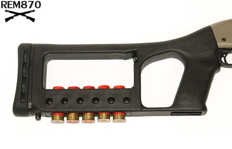 Choate Remington 870/Mossberg 500 Mark 6 Stock with Ammo Carrier
