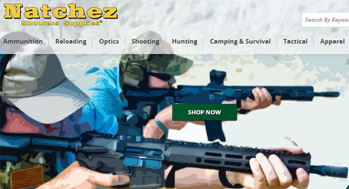 Natchez Shooting Supplies Discounts on Black Friday/Cyber Monday