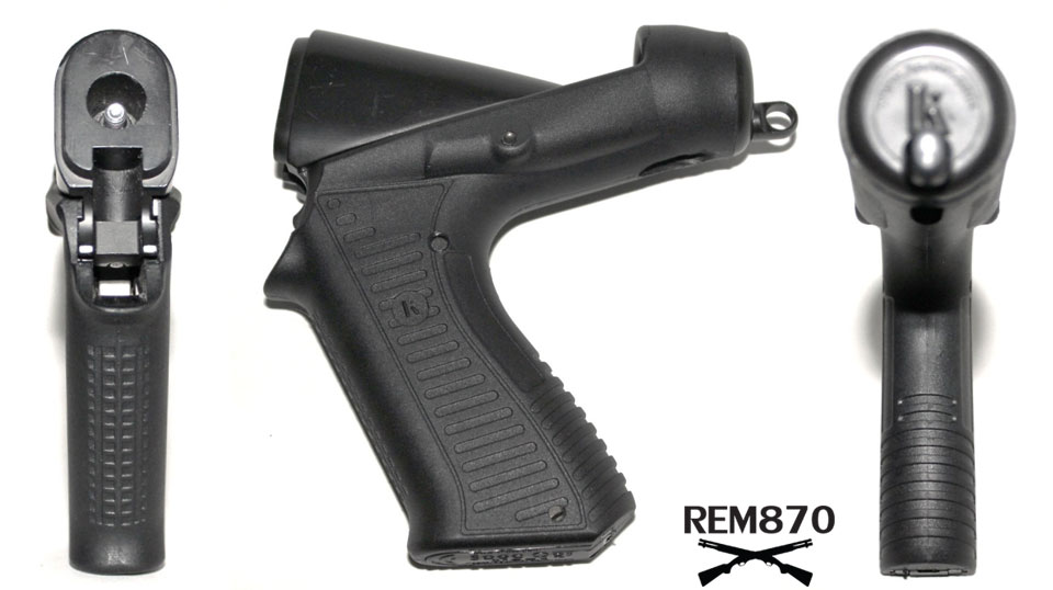 Blackhawk Knoxx Breachers Grip Detail