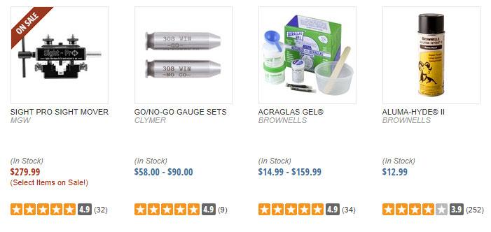 Gunsmith Tools and Supplies