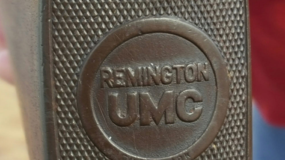 Remington pump shotgun