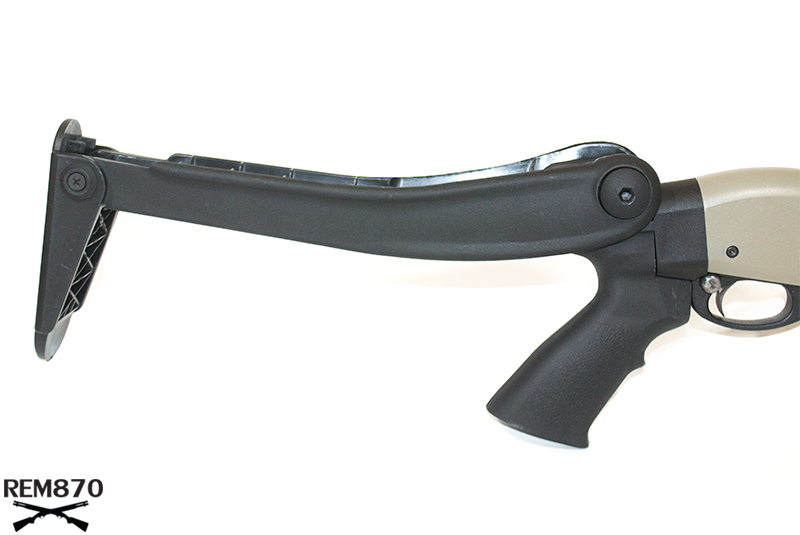 ATI Top Folding Stock on Remington 870