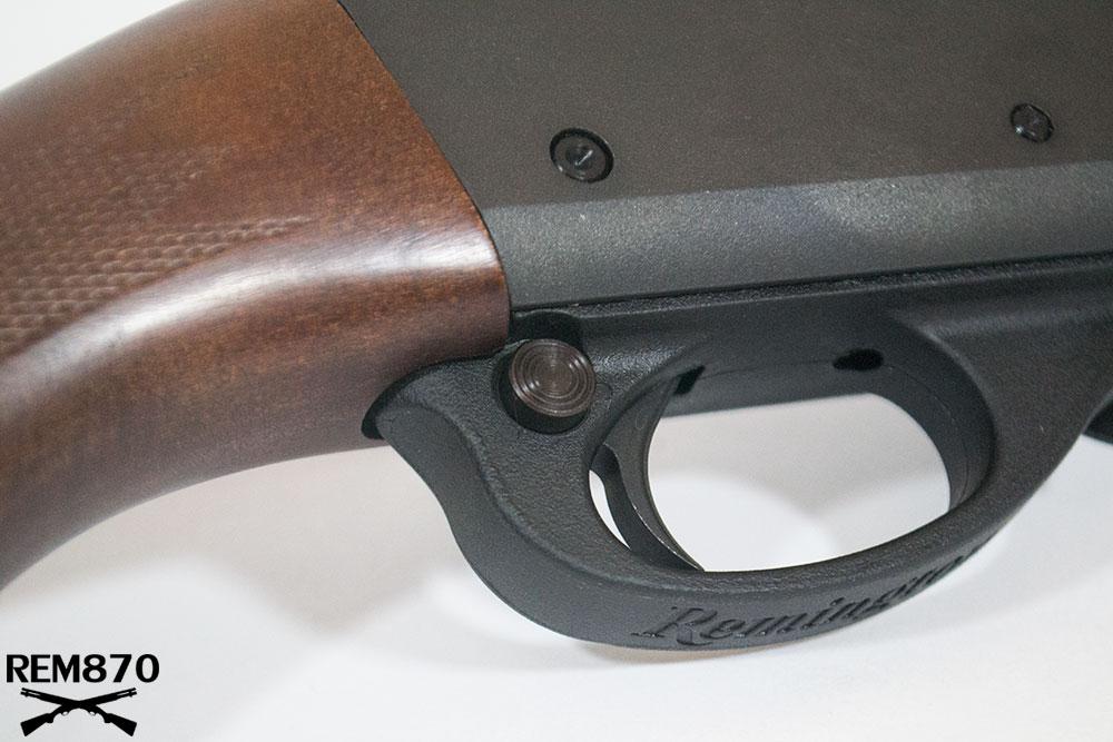 Remington 870 Factory Safety Button