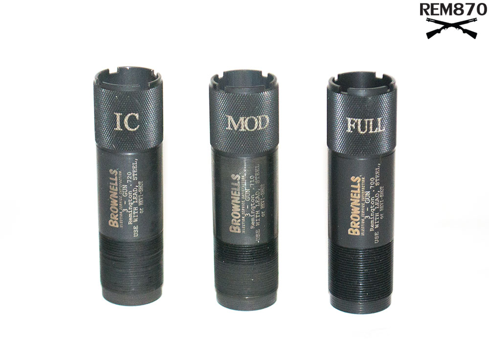 12-Gauge 3-Gun Remington Choke Tube Set