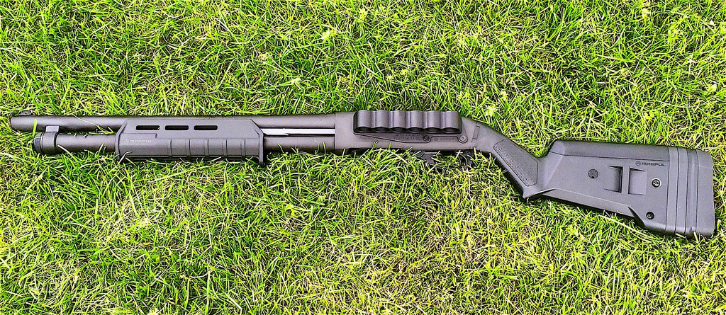 Simple Remington 870 Home Defense Build with Mesa Tactical Sidesaddle