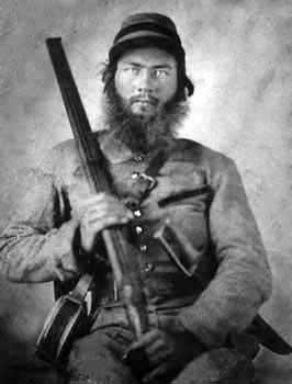 Confederate cavalryman