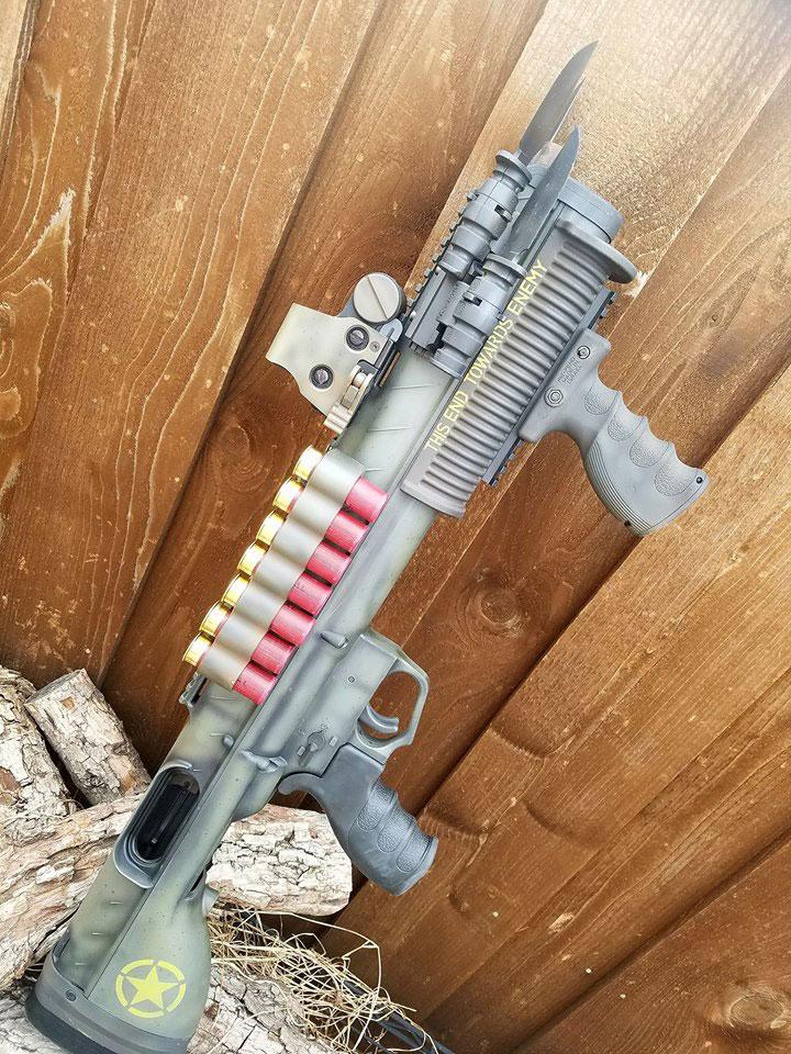 Remington 870 Bullpup