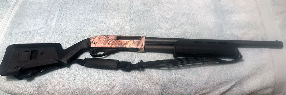 Remington 870 Camo