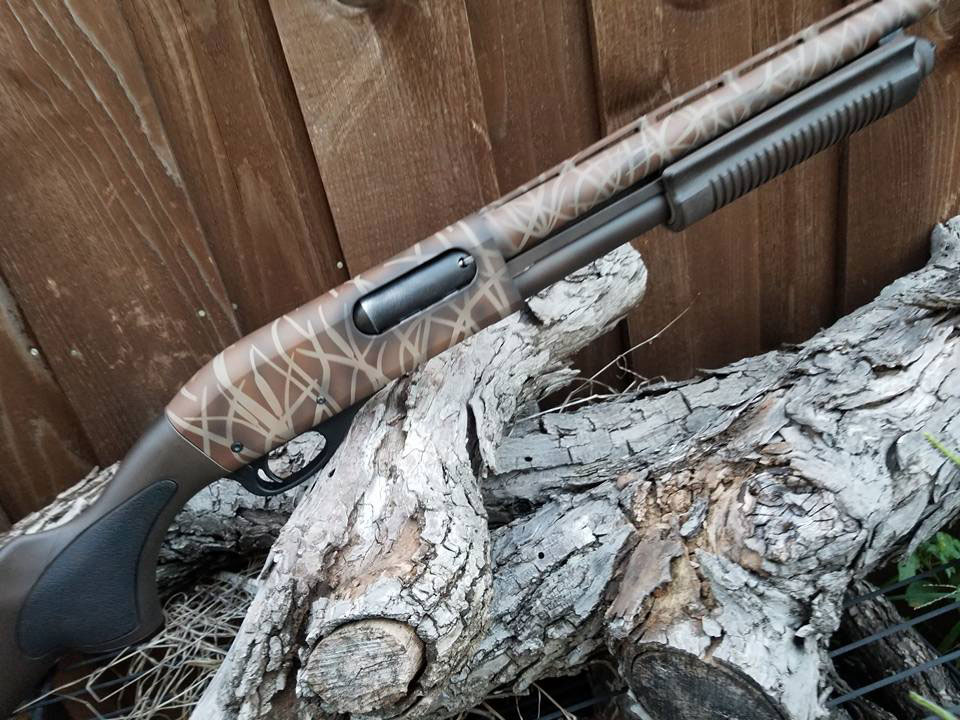 Remington 870 Camo