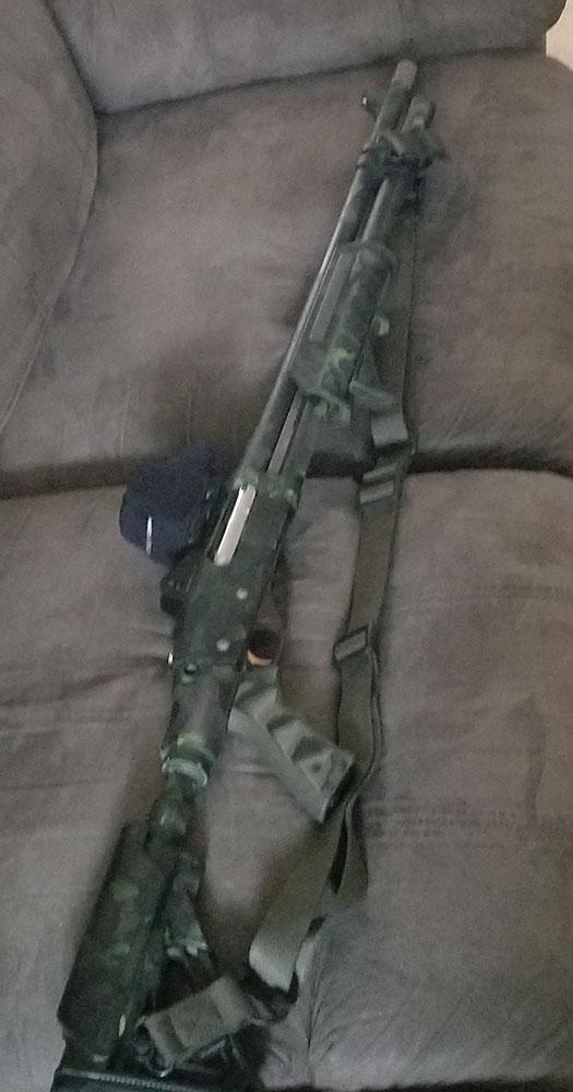Painted Remington 870