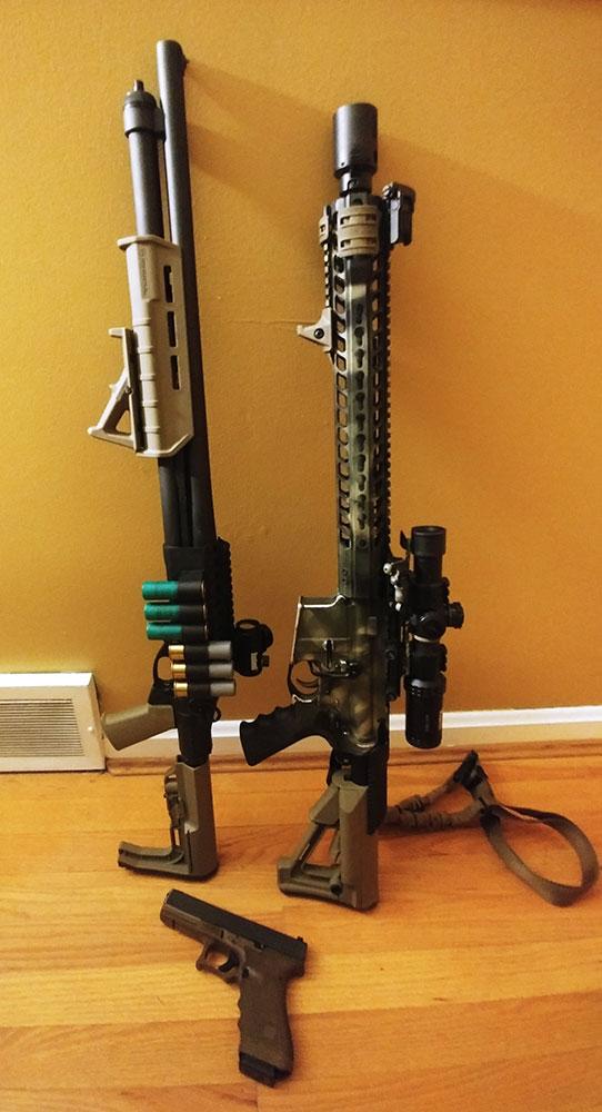 Remington 870, Rifle, Handgun